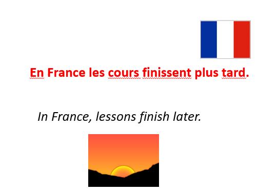Le collège en France.