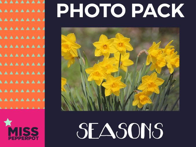 Seasons Photo Resource Pack