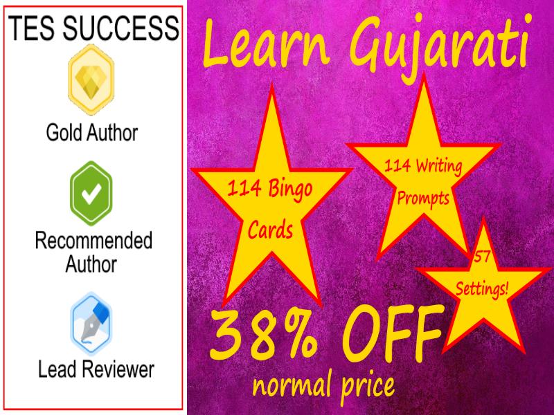 Learn Gujarati The Fun Way!  - Bundle