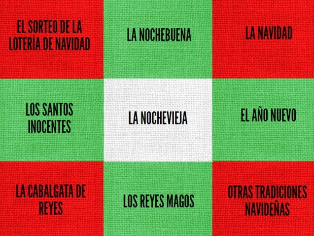 SPANISH CHRISTMAS PRESENTATION + 5 ACTIVITIES