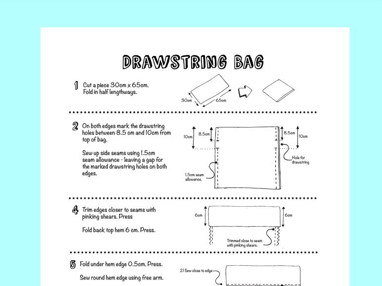 Textiles - Drawstring Bag