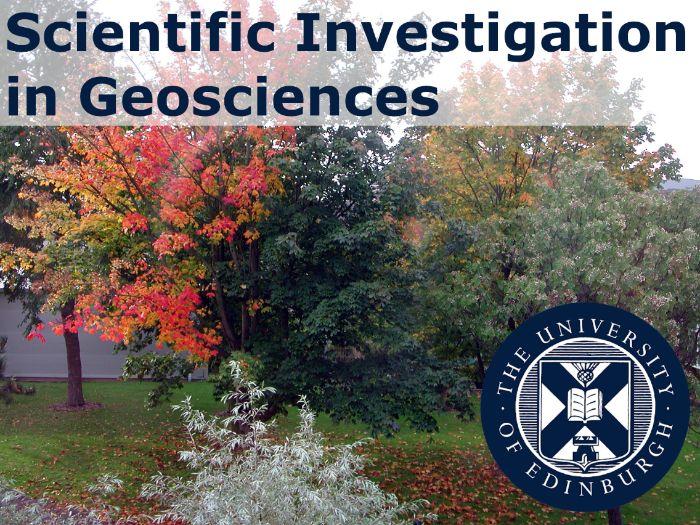 Guide to Scientific Investigation in Geosciences