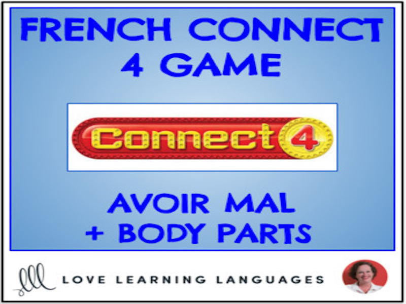 French Connect 4 Game - Avoir Mal