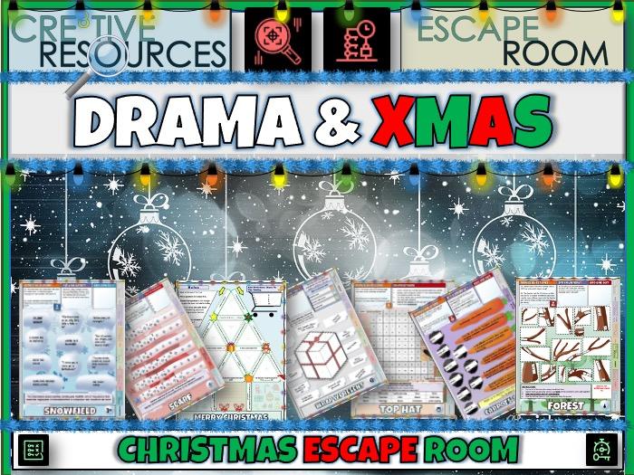 Drama Christmas Escape Rooms