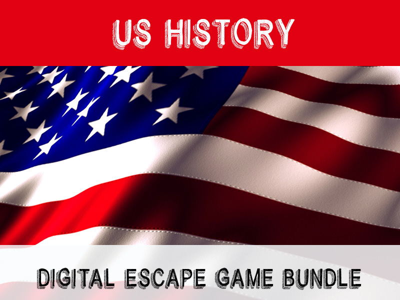 American History Escape Bundle - digital escaps games
