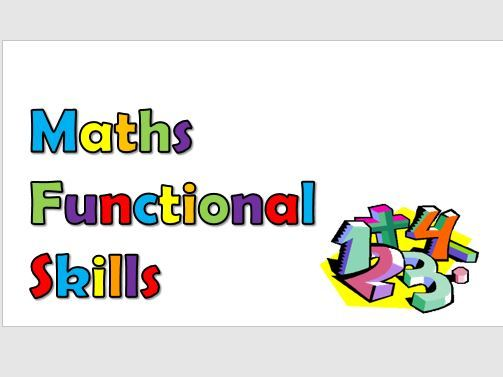 Maths Functional Skills Level 1 Revision Material, Exam Guide