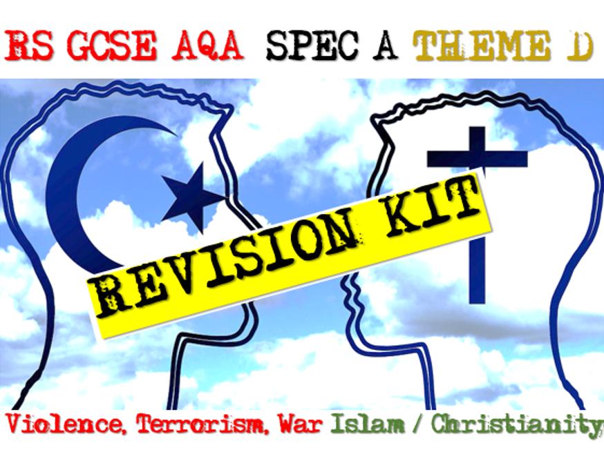 Violence, Terrorism, War - RS AQA Exam Practice 9-1 Theme D