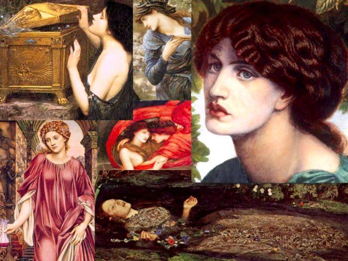 Pre-Raphaelite ~ Art History ~ 151 Slides ~ Painting ~ Art