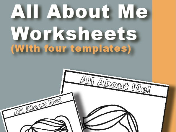 All About Me Worksheet Package (4-in-1)