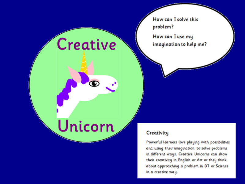 Growth Mindset Characters with speech bubbles