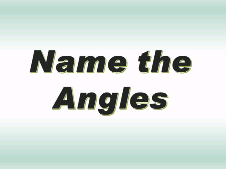 Angles Slideshow