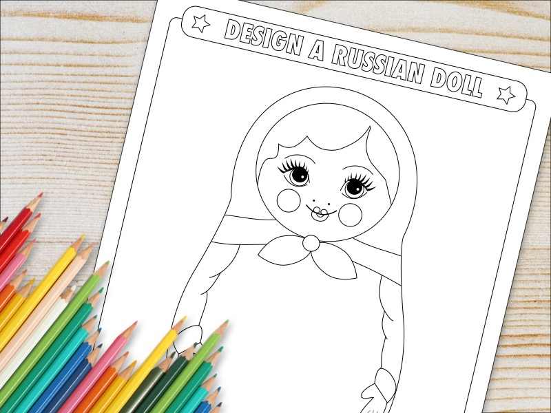 Design A Russian Doll Activity