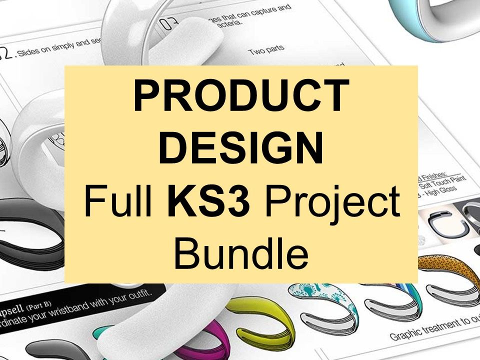 Full KS3 Product Design Project Bundle