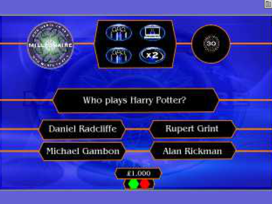 ActivInspire - Who Wants To Be A Millionaire Game 1