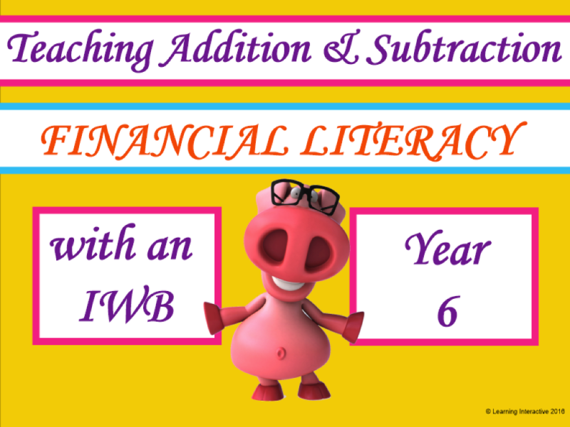 Financial Literacy - Calculating Discounts Yr6