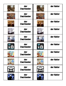 Haus (House in German) Dominoes