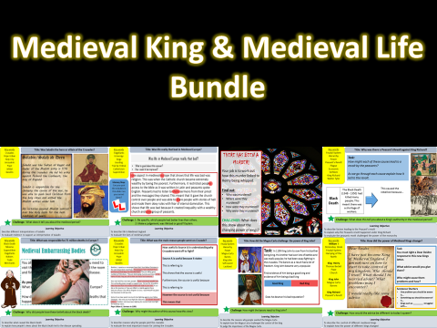 Medieval Kings and Medieval Life