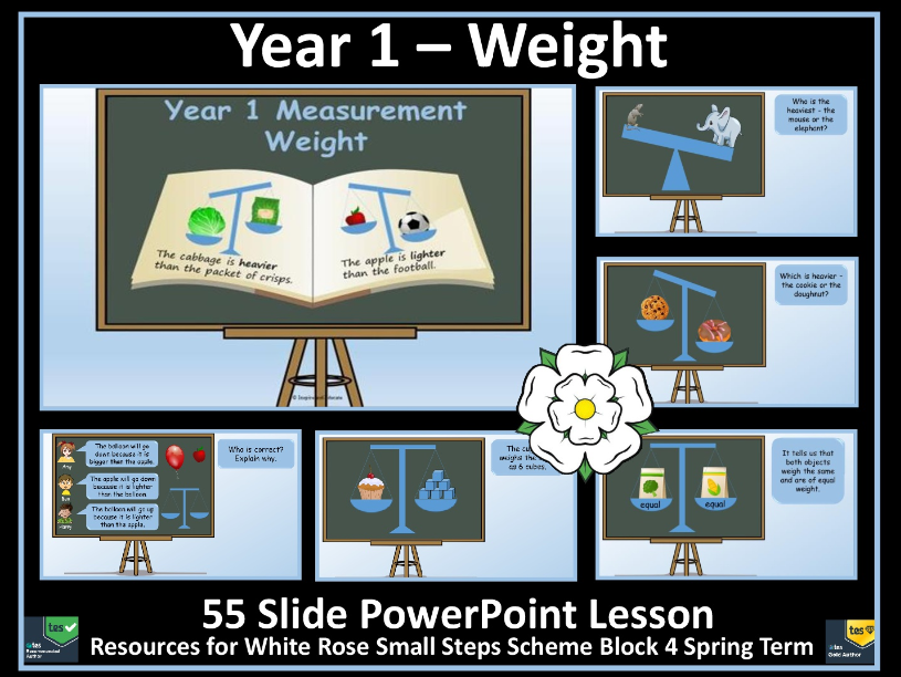 Weight and Mass - Year 1 - White Rose Maths