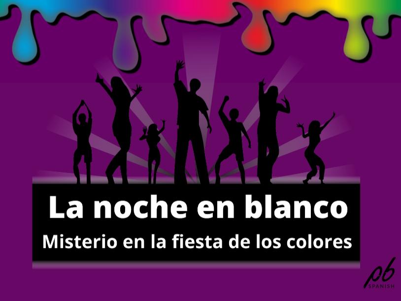 Modismos -Los colores -Juego escape room interactivo / Idioms -Colours -Interactive breakout game