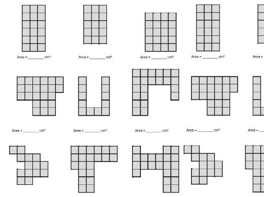KS2 Area by counting squares