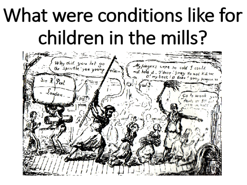 Children in the Mills