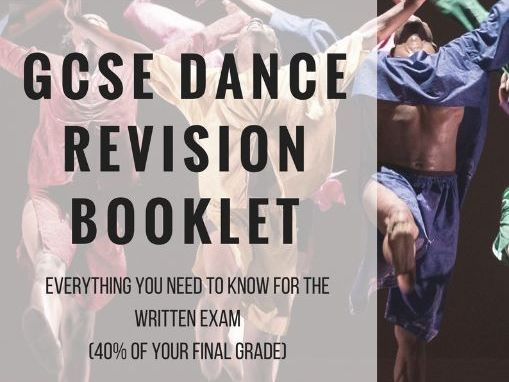 New Spec GCSE Dance Revision Booklet