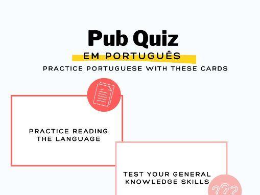 Pub Quiz - Questionário de Conhecimentos Gerais