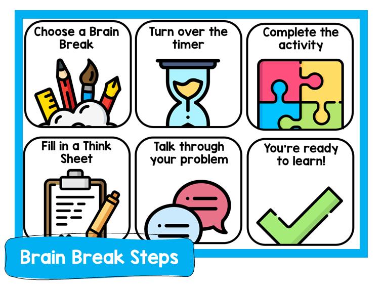 Brain Break Steps