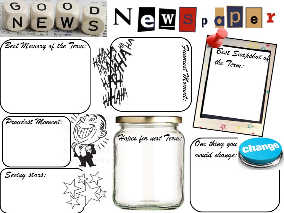 2017-2018 PSHE Year 7 Introduction 3) Good News Newspaper- A reflection on Term 1