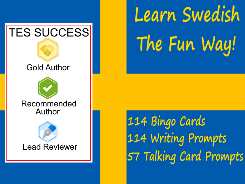 Learning Swedish The Fun Way Bundle