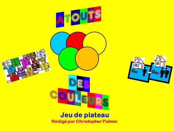 Primary French: Colours - Atouts des couleurs (Colour Assets) board game
