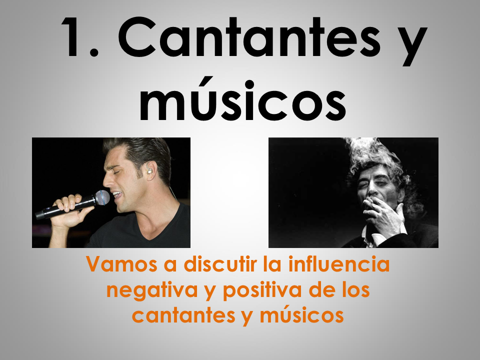AQA New AS/A Level Spanish La influencia de los ídolos: Cantantes y músicos