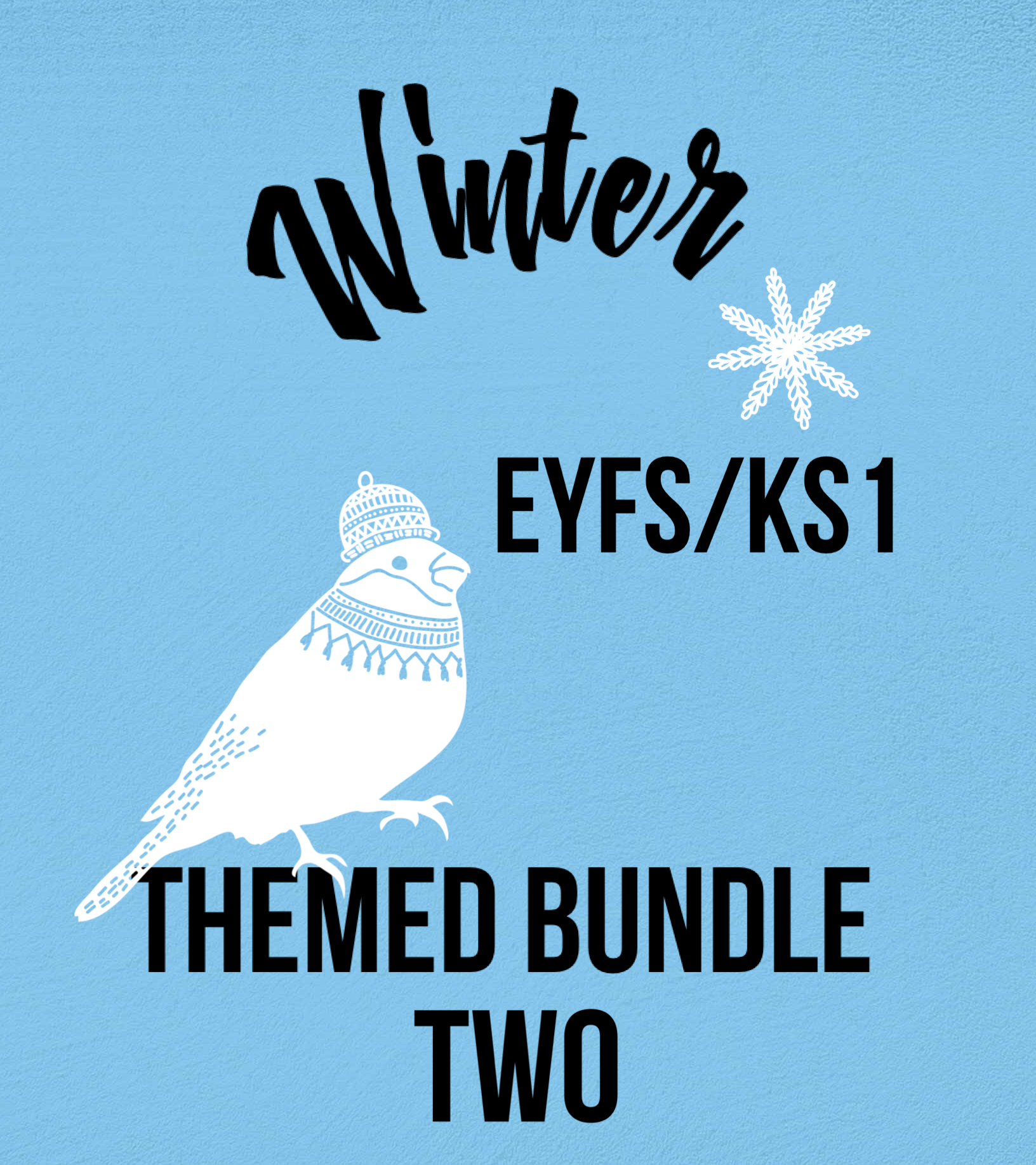 Winter Themed Bundle Pack Two for EYFS/KS1