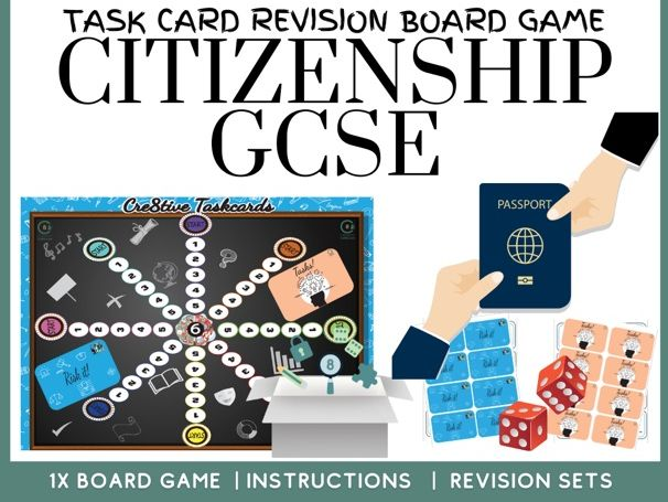 Citizenship GCSE Revision Board Game