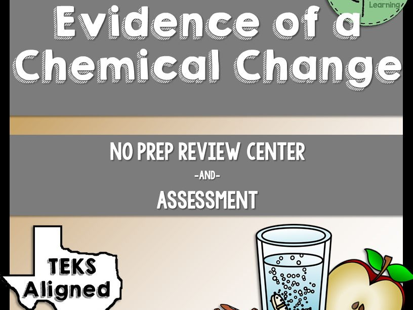 Evidence of a Chemical Change Review Center and Assessment