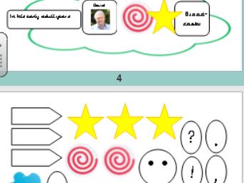Writing - Visual coding for SEN, EAL or KS1 children