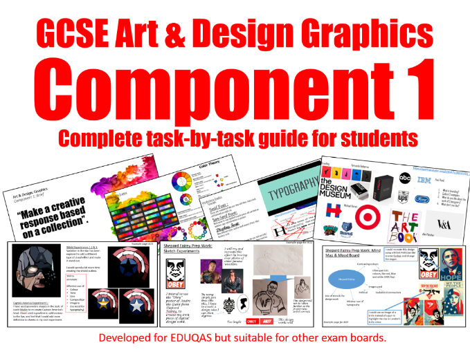 GCSE Art & Design Graphics Component 1 Guide
