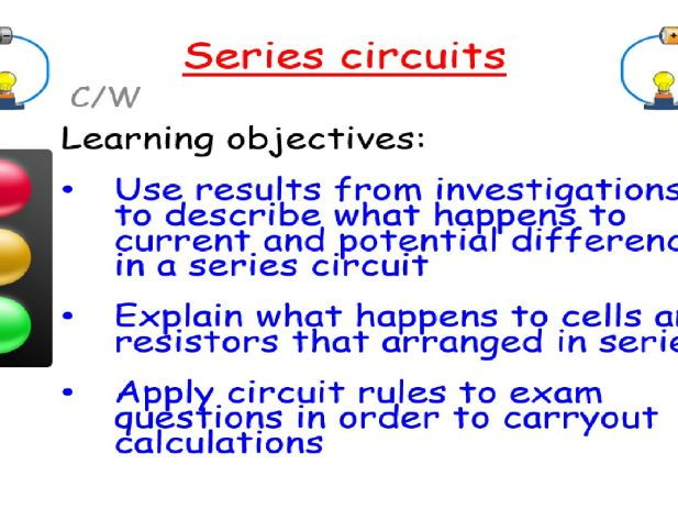 New AQA GCSE Physics: Series circuits