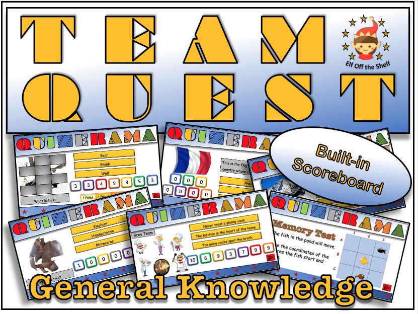 Back to School/End of Year Team Building Quiz KS3