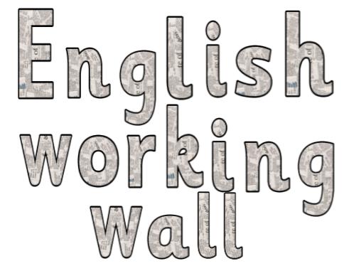 English title display