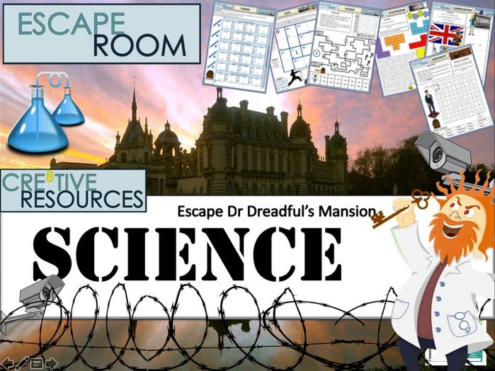 Science Escape Room - Back to School New