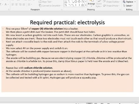 AQA GCSE Chemistry trilogy PAPER 1 FULL revision inc required practicals