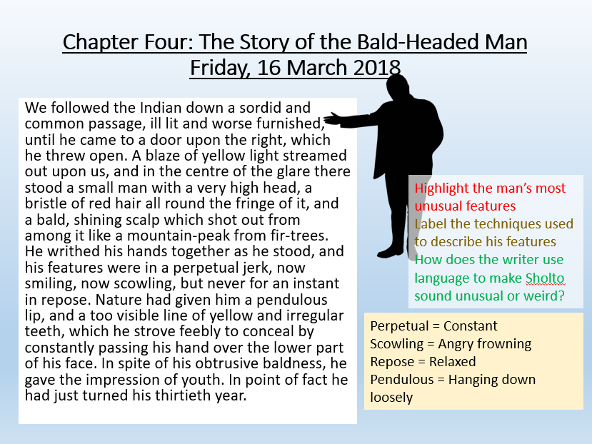 The Sign of Four - Chapter Four