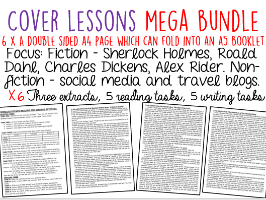 Cover Work MEGA BUNDLE (6 resources) - 35% DISCOUNT