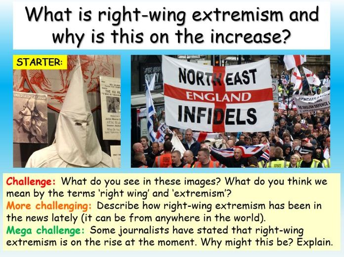 Extremism - Right Wing Extremism
