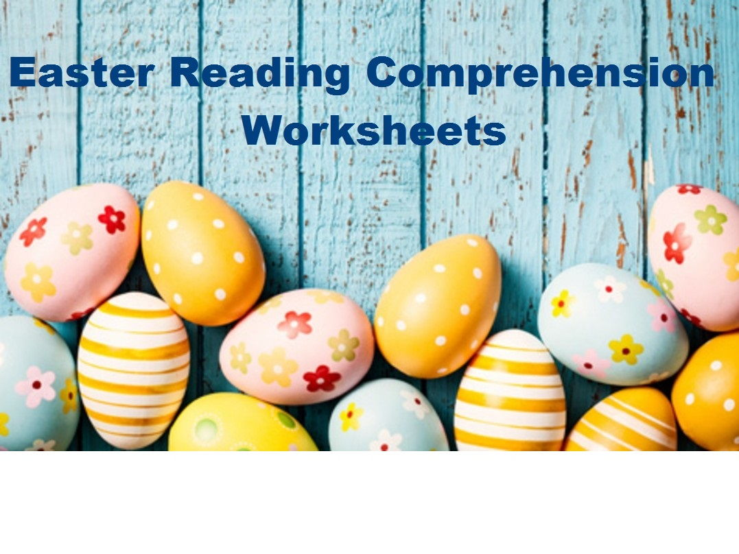 Easter Reading Comprehension Worksheets x 16 (SAVE 80%)
