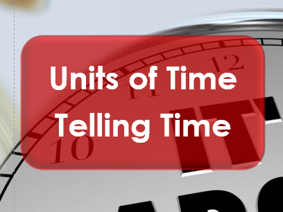 Employability Skills: Time: Units of Time and Telling Time