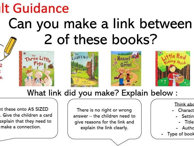 Making Connections - Year 2 Greater Depth Reading