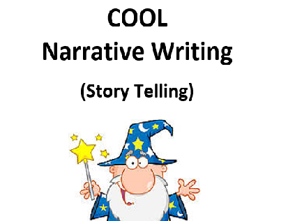 Narrative English Workbook for Primary Literacy and ESL Students