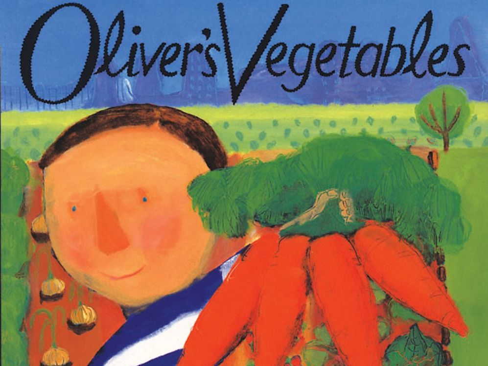 Oliver's vegetables literacy plan AND continuous provision activities